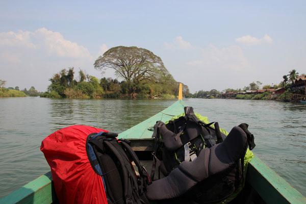 unterwegs zur Insel Don Khon