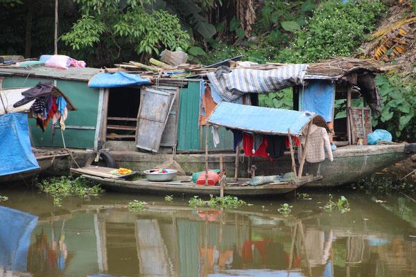 Hausboot in Ninh Binh
