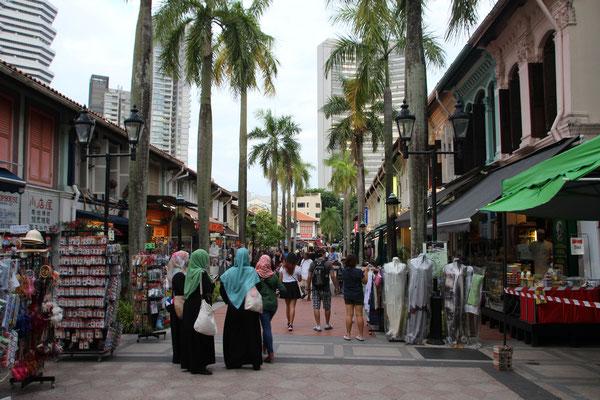 Strassenszene im Arabischen Quartier