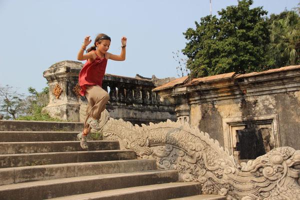 Sport: Auch Fliegen muss geübt sein, Vietnam