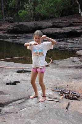 Sport: Hulahopp kreisen, Kambodscha