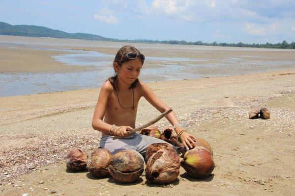 Musik: Kokosnuss-Xylophon, Thailand