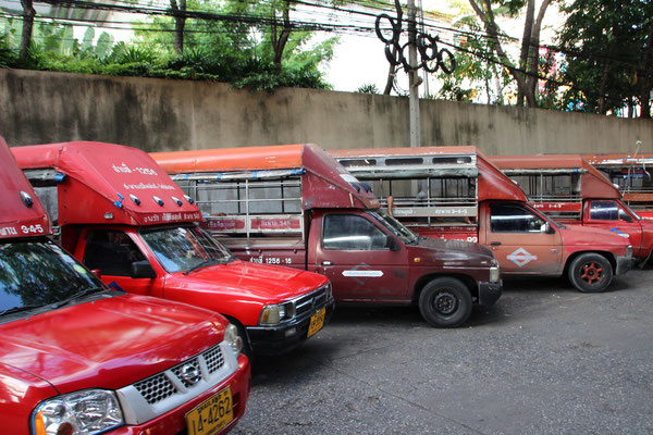 Taxiparkplatz, Bangkok