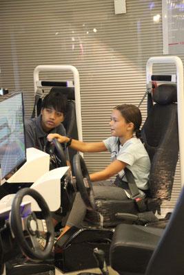 Autofahrstunde am Simulator, KidZania Bangkok
