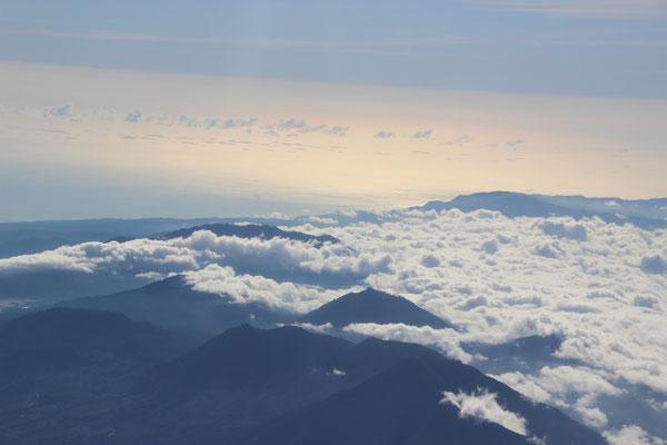 Über den Wolken nach Singapur