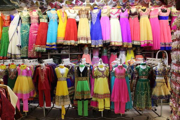 Kleidermarkt in Little India