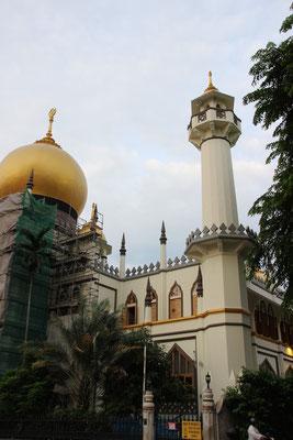 Orientalische Gebäude in Singapur