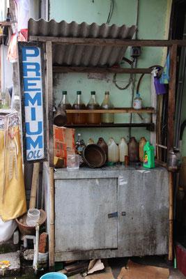 Tankstelle, Mundtuch