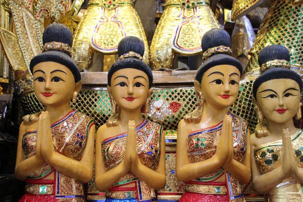 Auf dem Chatuchak Markt in Bangkok