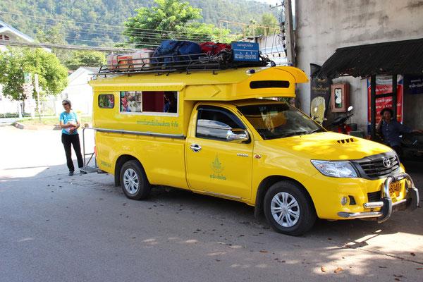Taxireise von Chiang Mai nach Samoeng, Thailand
