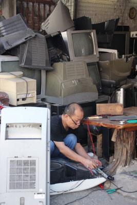Reparaturwerkstatt für technische Geräte