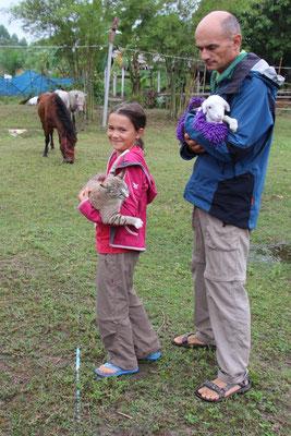 Auf der Tierfarm in Suanphung