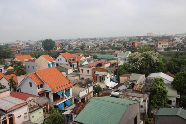 Über den Dächern von Hué