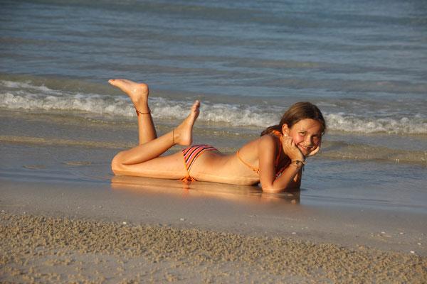 Strandnixe am Thung Wua Laen Beach