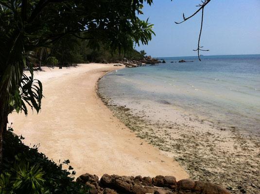 Einsame Bucht auf Koh Phangan