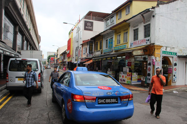 Taxi, Singapur