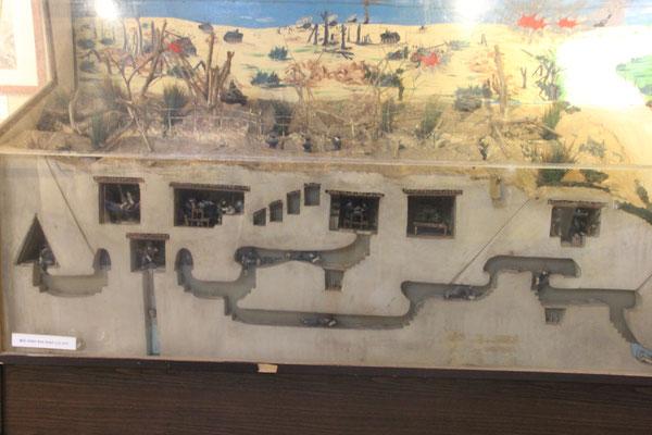 Tunnelsystem des Ho Chi Minh Pfades, Militärmuseum Hanoi