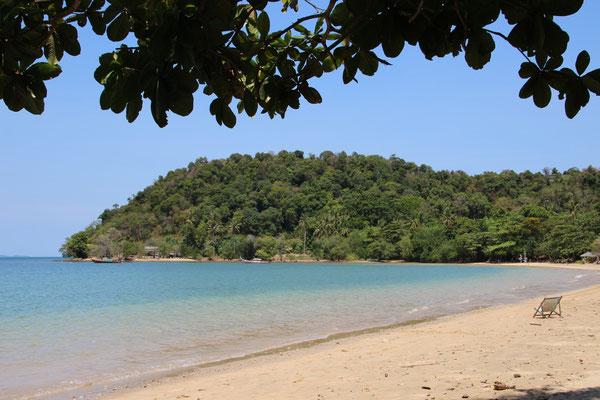 Einsamer Strand auf Koh Pu