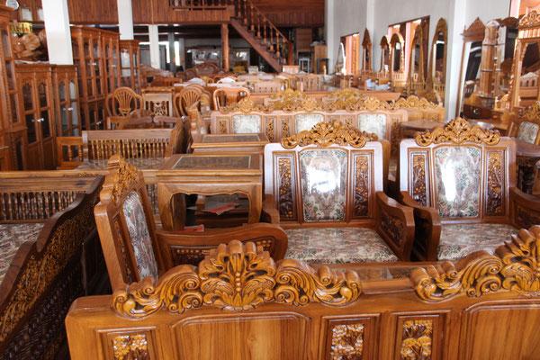 Möbelausstellung in Sukhothai