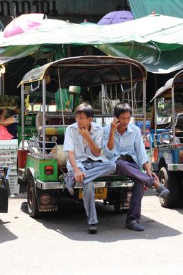 Auch eine Pause muss sein! Bangkok