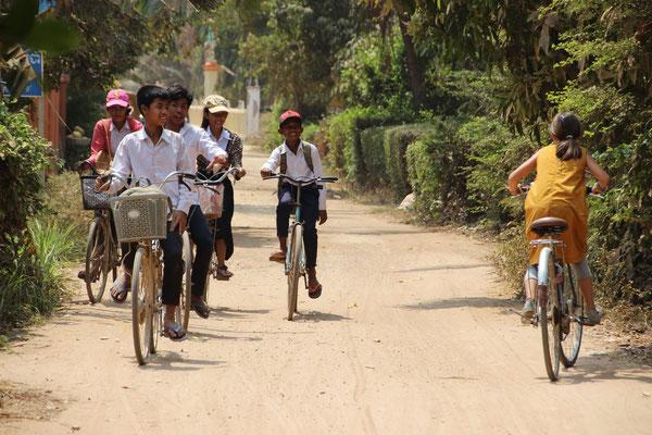 Sport: Fahrrad fahren, Kambodscha