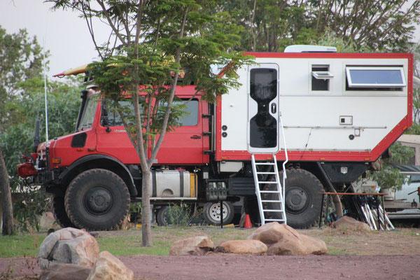 Privater australischer Camper, Australien