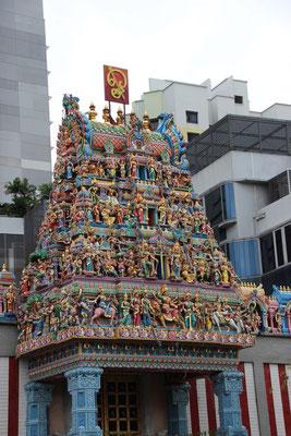 Bedeutendster Hinduistischer Tempel von Singapur