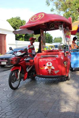 Eisverkäufer in Bangkok, Thailand