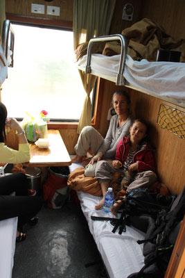 Im Nachtzug von Hoi An nach Ninh Bin