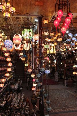 Orientalische Lampen im Arabischen Quartier