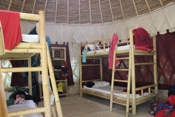 Unsere Zimmereinrichtung im Green Camp