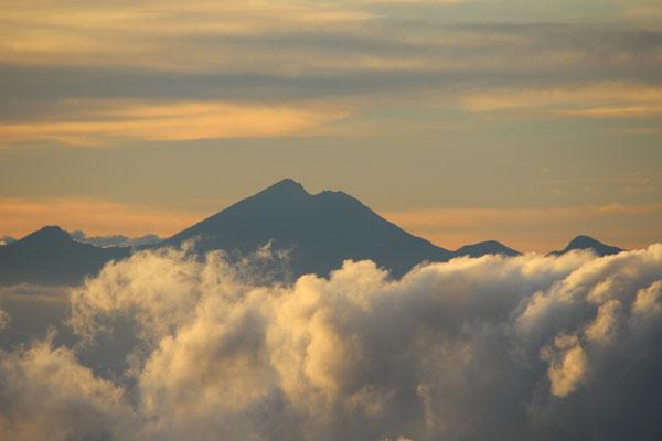 Aussicht vom Mount Agung