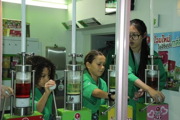 In der Eisteefabrik, KidZania in Bangkok
