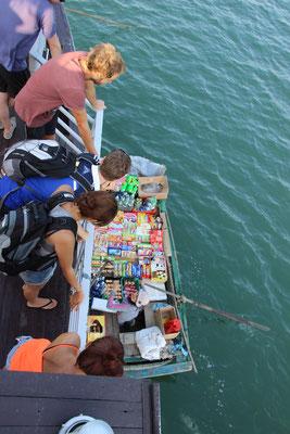 Krämerladen auf dem Boot