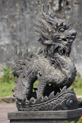Hübscher Drache in Hué