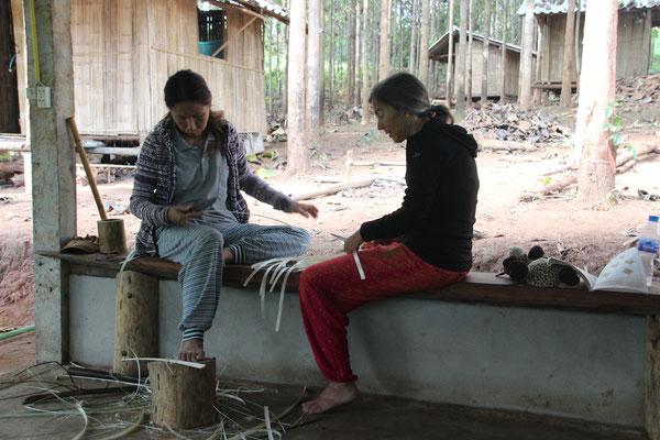 Bambusflechten