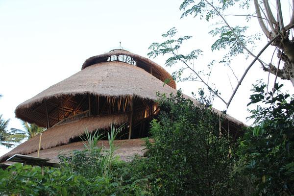 Grösstes Bambusgebäude