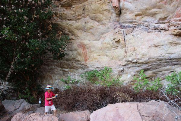 Auf Fotopirsch nach Felszeichnungen, Australien