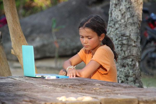 Beim Blog-schreiben, Thailand