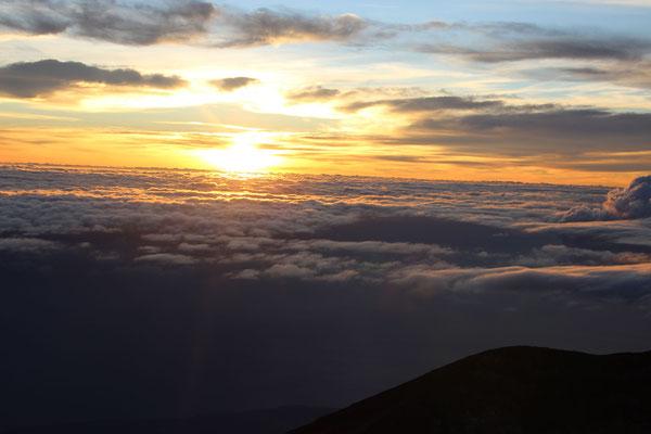Morgenstimmung auf dem Gunung Agung