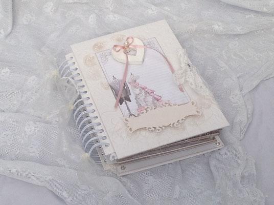 Hochzeits mini Fotoalbum