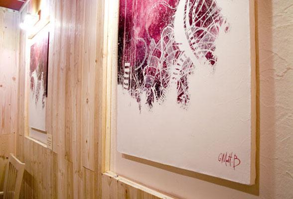 Detail // Diptyque 2x60/81 cm // 2007