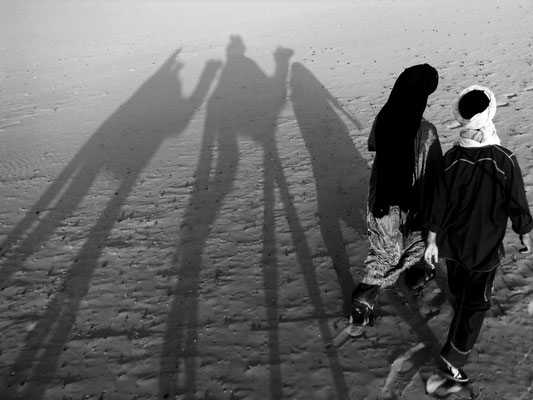 """Dans le désert"" Marina Roca"