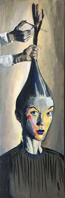 Acryl auf Leinwand   Titel: Neuanfang   Größe 50 x 150