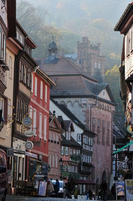 Altstadt mit Fachwerkbauten