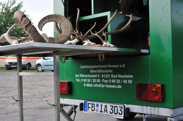 Lehrwagen des Landesjagdverbandes Hessen