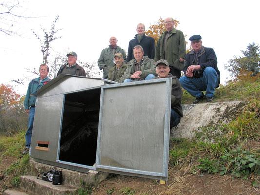 Winterquartier für Fledermäuse in Saasen