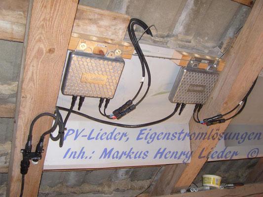Die Wechselrichter unterm Dach