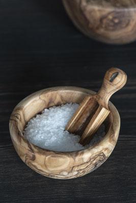 Salzlöffel aus Olivenholz 9€