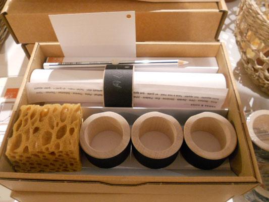 Serviettenringe 4er Set zum Beschriften (Tafelbeschichtung) 25,90€